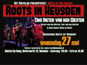 Trio Dieter van der Westen, Roots in Heusden