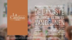 De Langste Italiaanse Eettafel Van Drunen 2020