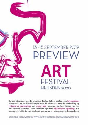 Preview ART Festival Heusden 2020