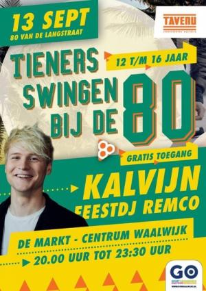 Tieners Swingen bij de 80!